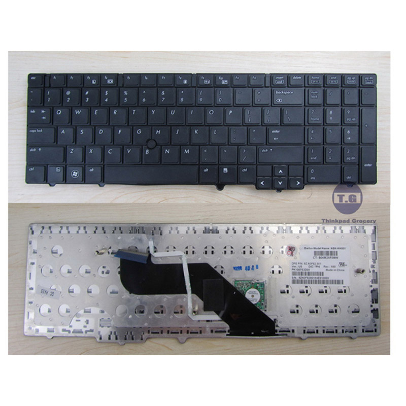 batterie ordinateur portable Laptop Keyboard HP PK1307E2D00
