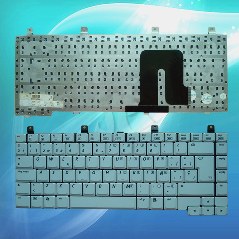 batterie ordinateur portable Laptop Keyboard HP Pavilion DV4000