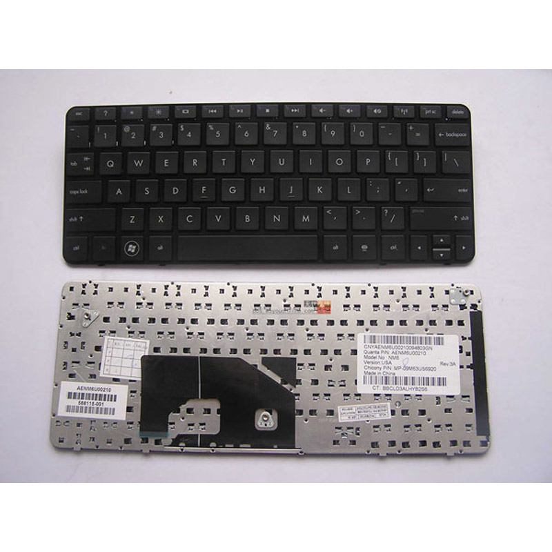 batterie ordinateur portable Laptop Keyboard HP Mini 210-1077CA PC WH683UAR