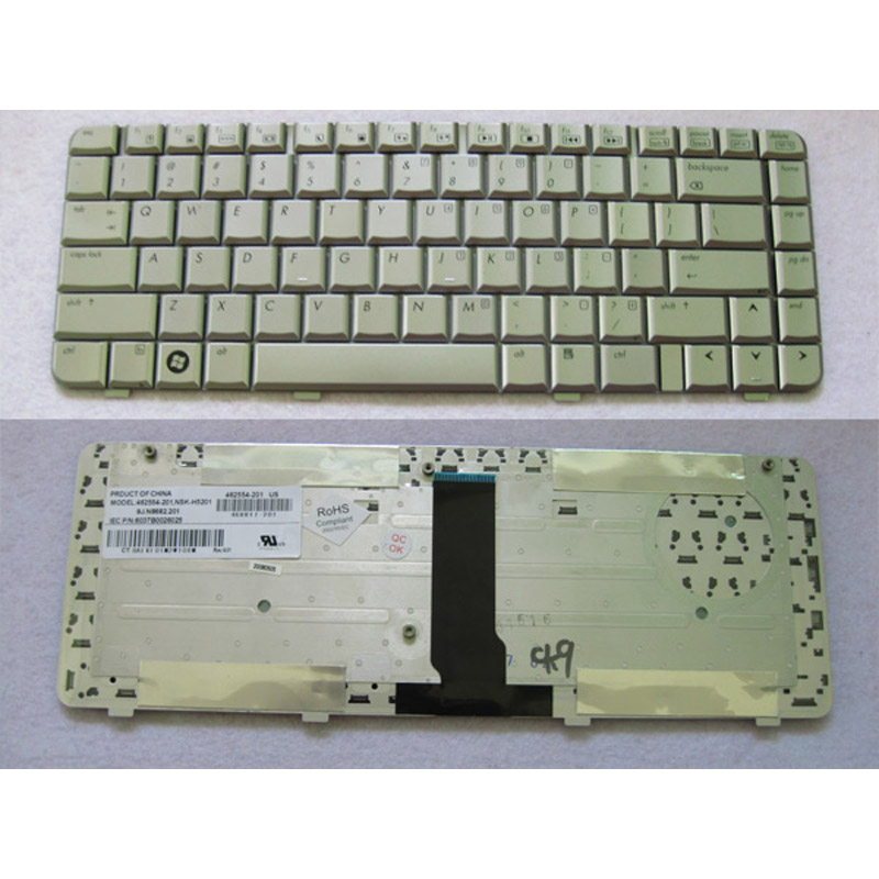 batterie ordinateur portable Laptop Keyboard HP Pavilion dv3000 KT237PA (dv3012TX)