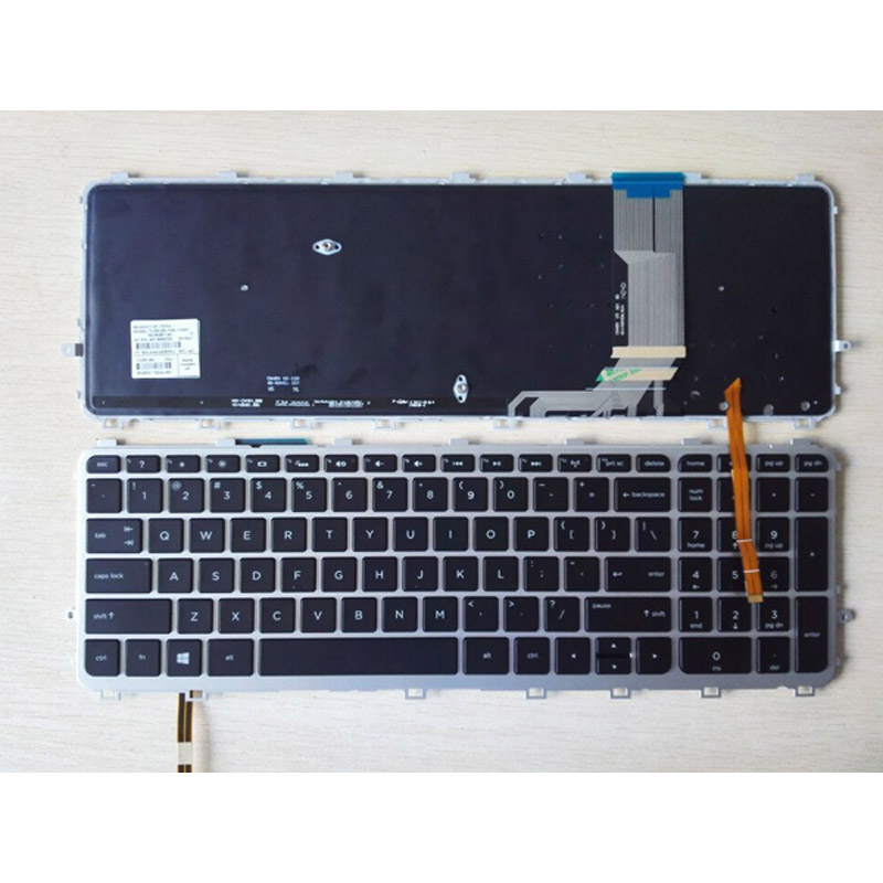 batterie ordinateur portable Laptop Keyboard HP Envy 15-J