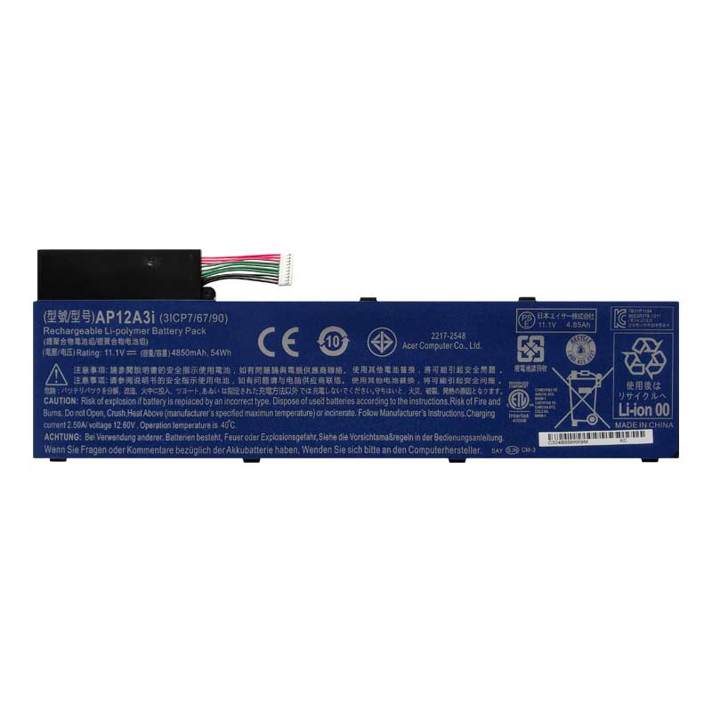 batterie ordinateur portable Laptop Battery ACER AP12A4I