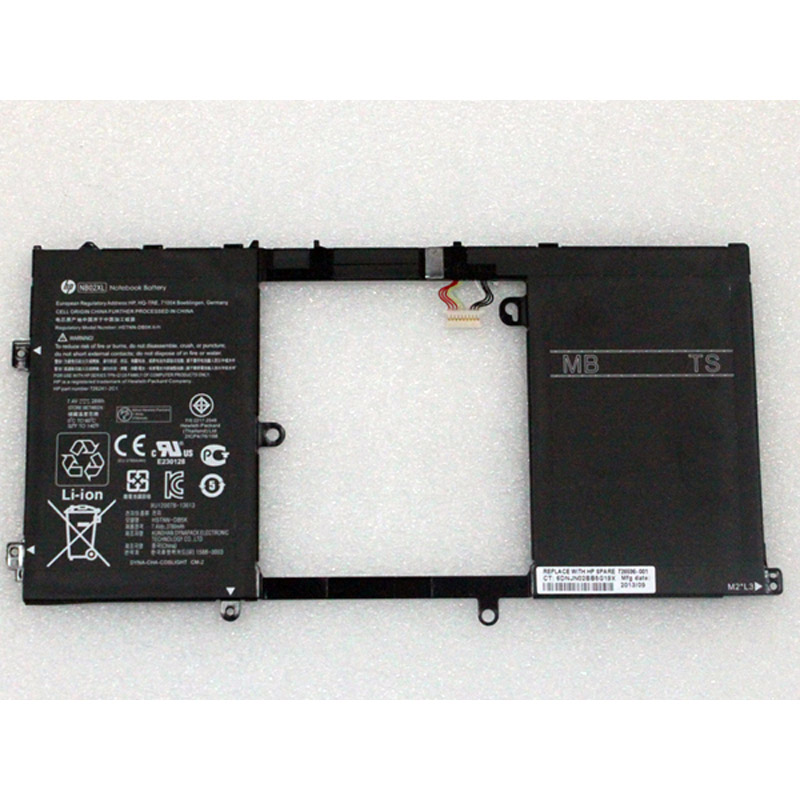 batterie ordinateur portable Laptop Battery HP NB02XL