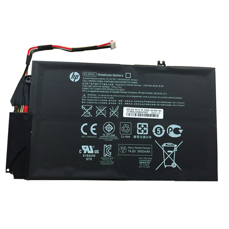 batterie ordinateur portable Laptop Battery HP 681949-001