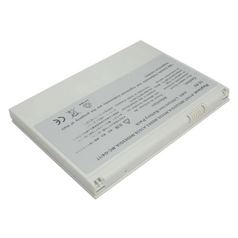 "batterie ordinateur portable Laptop Battery APPLE PowerBook G4 17"" M9970X/A"