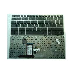 batterie ordinateur portable Laptop Keyboard HP EliteBook 2560P